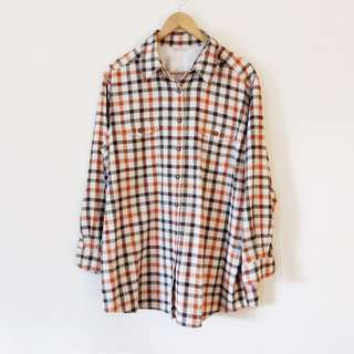 Vintage St Michael by Marks and Spencer Plaid Button Down Shirt