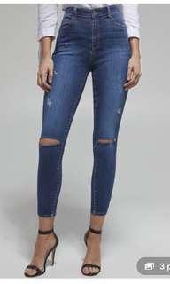Bardot khloe cropped jeans size 6