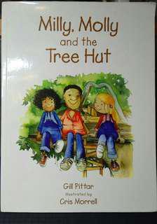【贈品】Milly, Molly and the tree hut