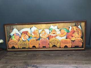 Seven Dwarfs Jigsaw Frame
