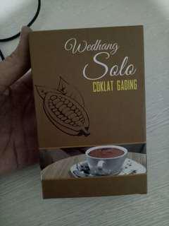 Wedhang solo Coklat Gading