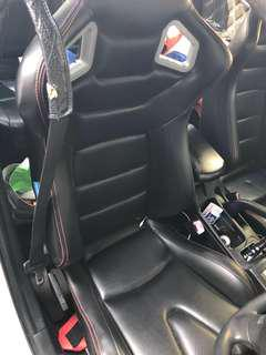 Sscus seats for lancer ex