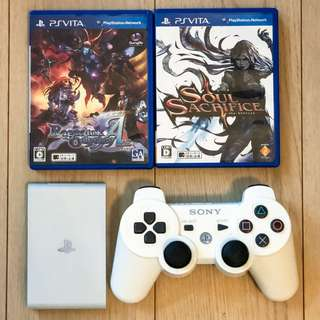 Sony PSVita TV 3.63 with controller and 2 games PSV PS Vita