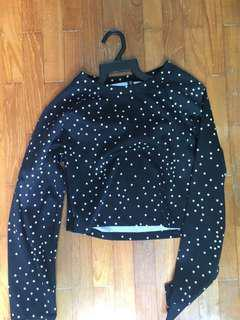 CO Crop Pullover