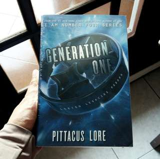 Pittacus Lore - generation one