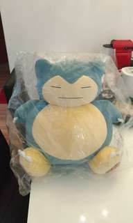 Snorlax Pokemon big plush