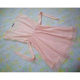 Hip Culture Peach Dress