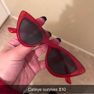 Cateye sunnies