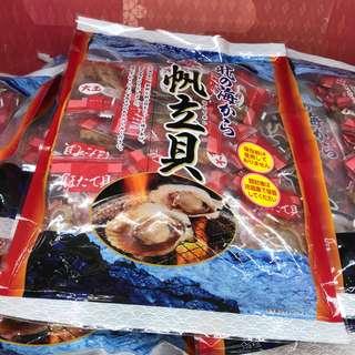 日本特大(大玉)味付帆立貝450g