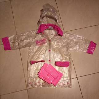 Barbie Raincoat For Ages 4-5