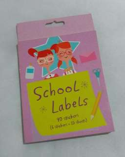 School Label Sticker