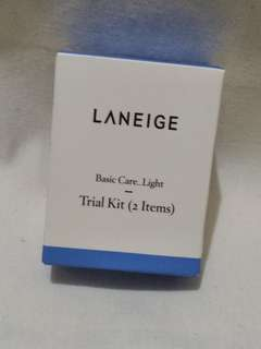 LANEIGE TRIAL KIT- BASIC CARE LIGHT