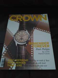 BN Crown watch magazine