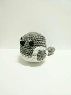 Handmade Crochet Pigeon Bird Toy
