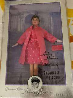 Barbie-Audrey Hepburn as Holly Golighty in Breakfast at Tiffany