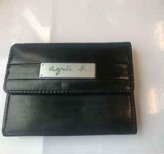 Agnes B coins bag card holder