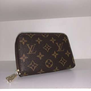 LOUIS VUITTON DOUBLE ZIP WALLET