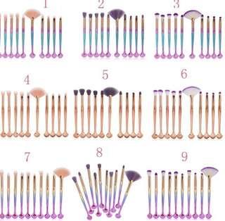 (PO) Makeup Brush Set