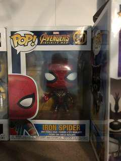 Pop! Funko vinyl Marvel Infinity war Iron Spider
