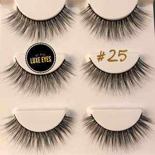 3D Mink Lashes #25