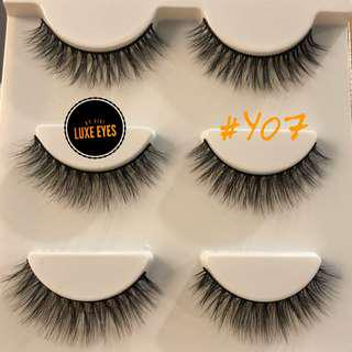 3D Mink Lashes #Y07