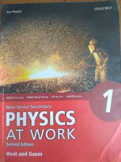 New Senior Secondary Physics at Work 1: Heat and Gases (For Physics)