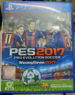 PS4 PES2017