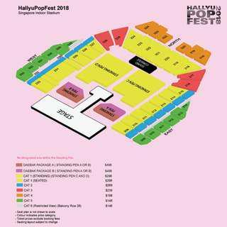 [repost - share] hallyupopfest tickets