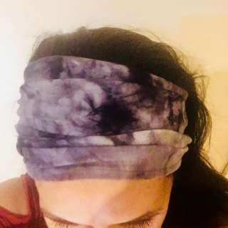 Boho wide cotton headbands , free postage
