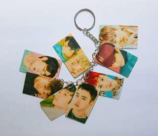 EXO keychain -- all 9 members