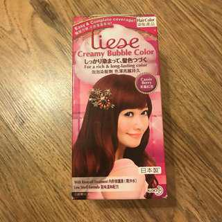 Liese Bubble Hair Color in Cassis Berry
