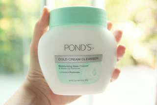 Ponds Cold Cream Cleansers