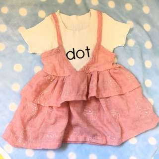 女童裙 上衣 dress top