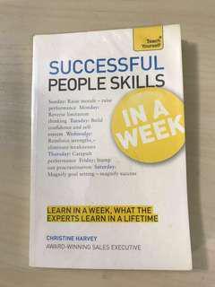SUCCESSFUL PEOPLE SKILLS IN A WEEK