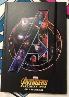 #LetGo80 Avengers notebook