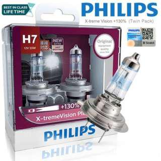 Philips X-treme Vision Plus H7 55W