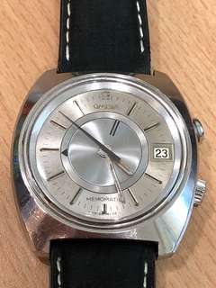 1 day offer :) 70s rare nice Omega Memomatic (auto) watch