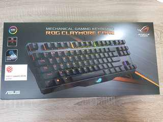 BNIB Asus ROG Claymore core cherry mx blue