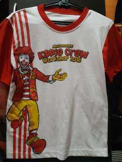 Mc donalds shirt 2016
