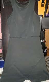 Overlap skirt dress