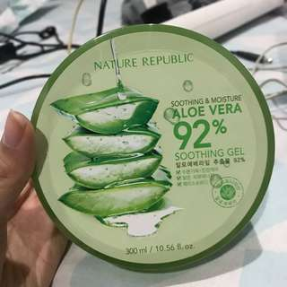 NATURE REPUBLIC ori aloe soothing gel