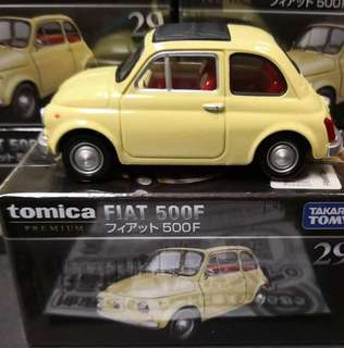 日版 TOMICA Premium Fiat 500F 快意