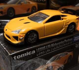 日版 TOMICA Premium 30 Lexus LFA Nurburgring Package