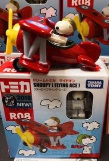 日版 Dream TOMICA R08 Snoopy Flying Ace 史努比