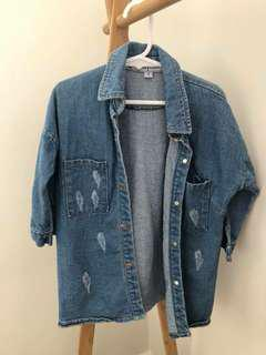 LITTLE TRELISE DENIM JACKET