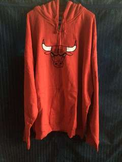 Authentic Chicago bulls red jacket