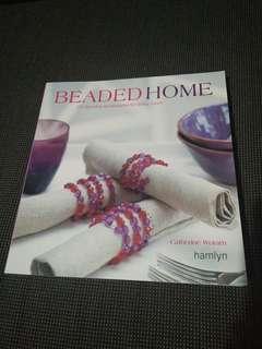 Beaded home book craft beading