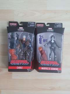 Marvel Legends Sasquatch BAF Wave Cable and Domino Brand New and Sealed