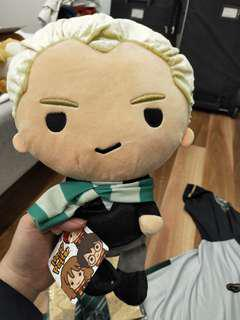 OFFICIAL MALFOY HARRY POTTER SLYTHERIN PLUSHIE PLUSH SOFT TOY DOLL BRAND NEW