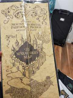OFFICIAL HARRY POTTER MARAUDERS MAP BRAND NEW